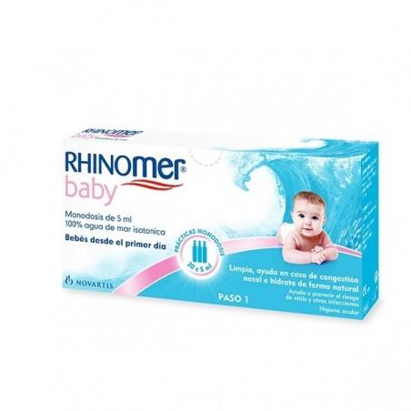 RHINOMER 20 MONODOSIS 5ML