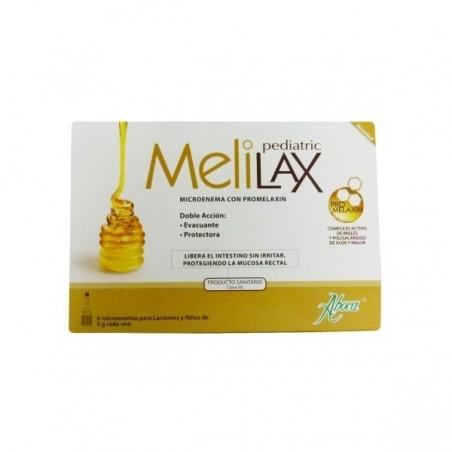 MELILAX 6 MICROENEMAS PEDIATRICO 5G