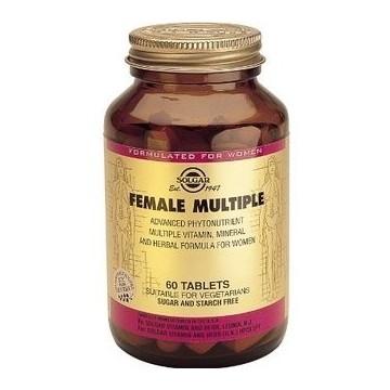 SOLGAR FEMALE MULTIPLE 60CAPS