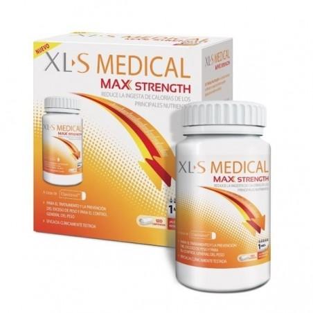 XLS MEDICAL MAX STRENGTH 120 COMP