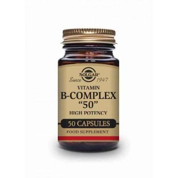 "SOLGAR B COMPLEX ""50"" CAPSULAS"
