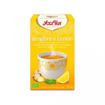 YOGI TEA JENGIBRE LIMON 17...