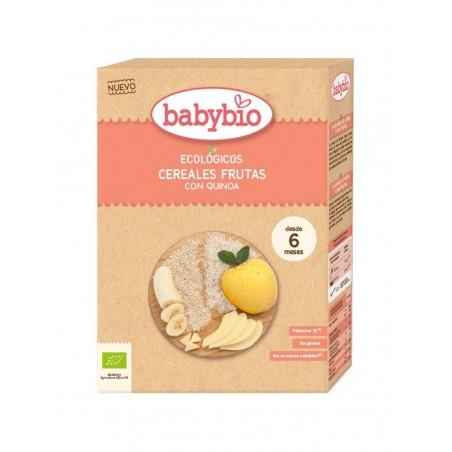 BABYBIO CEREALES 3 FRUTAS BIOMERKALIA
