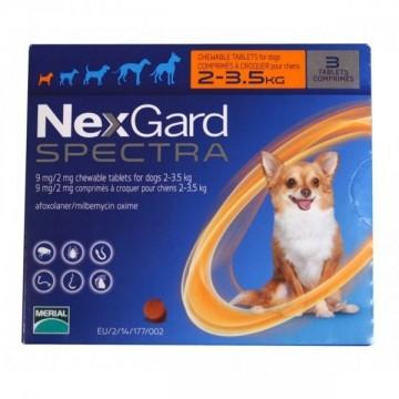 NEXGARD SPECTRA 9MG 2-3,5...
