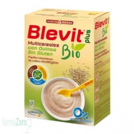 BLEVIT PLUS MULTICEREALES CON QUINOA SIN GLUTEN 250 G