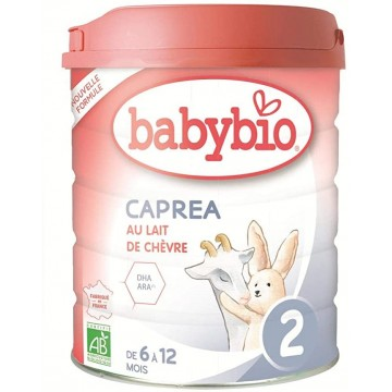 BABYBIO LECHE CAPREA 2