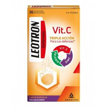 LEOTRON VIT C 36 COMP EFERV