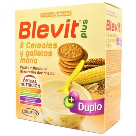 BLEVIT PLUS DUPLO 8 CEREAL+GALLETA