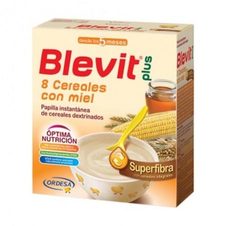 BLEVIT PLUS SUPERFIBRA 8 CEREAL MIEL E/B