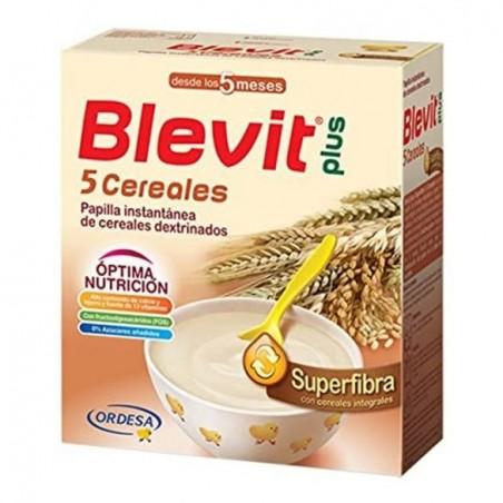 BLEVIT PLUS SUPERFIBRA 5 CEREAL E/