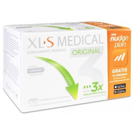 XLS MEDICAL ORIGINAL CAPTAGRASAS 180 COMPRIMIDOS