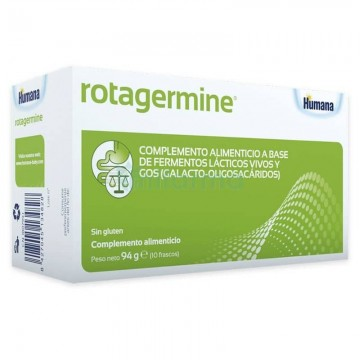 ROTAGERMINE 10 VIALES