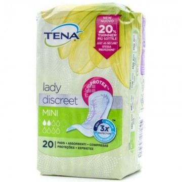 TENA LADY COMPRESAS MINI 20 UD
