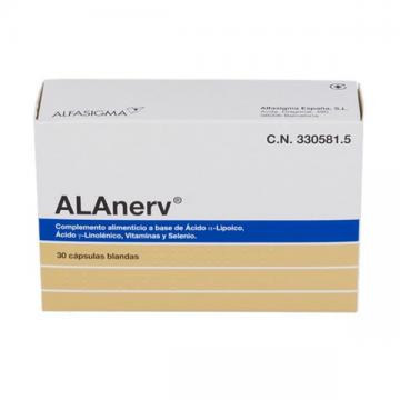 ALANERV 920 MG 30 CAPS